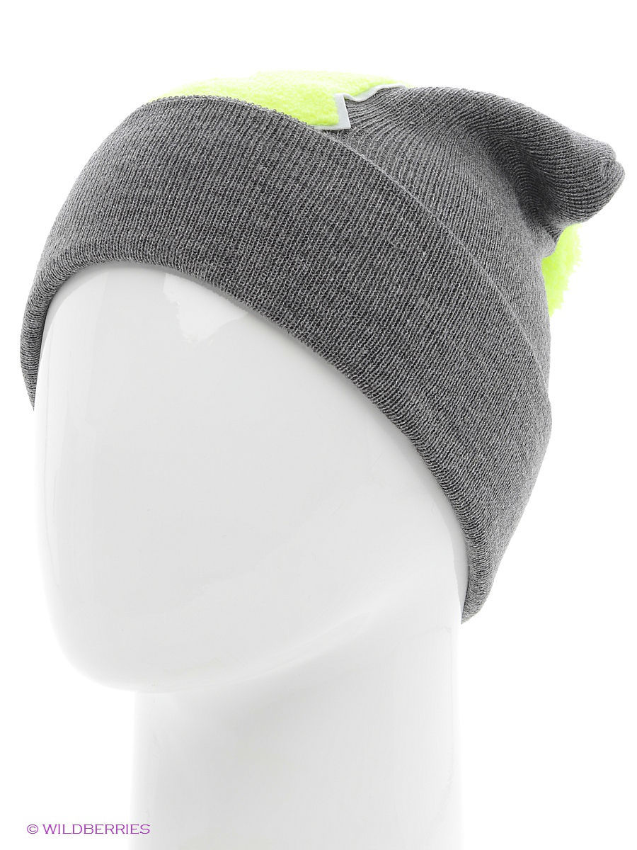 Шапка True Spin TS-ABCPOM14Grey/Lime-Q