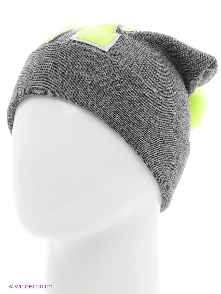 Шапка True Spin TS-ABCPOM14Grey/Lime-R