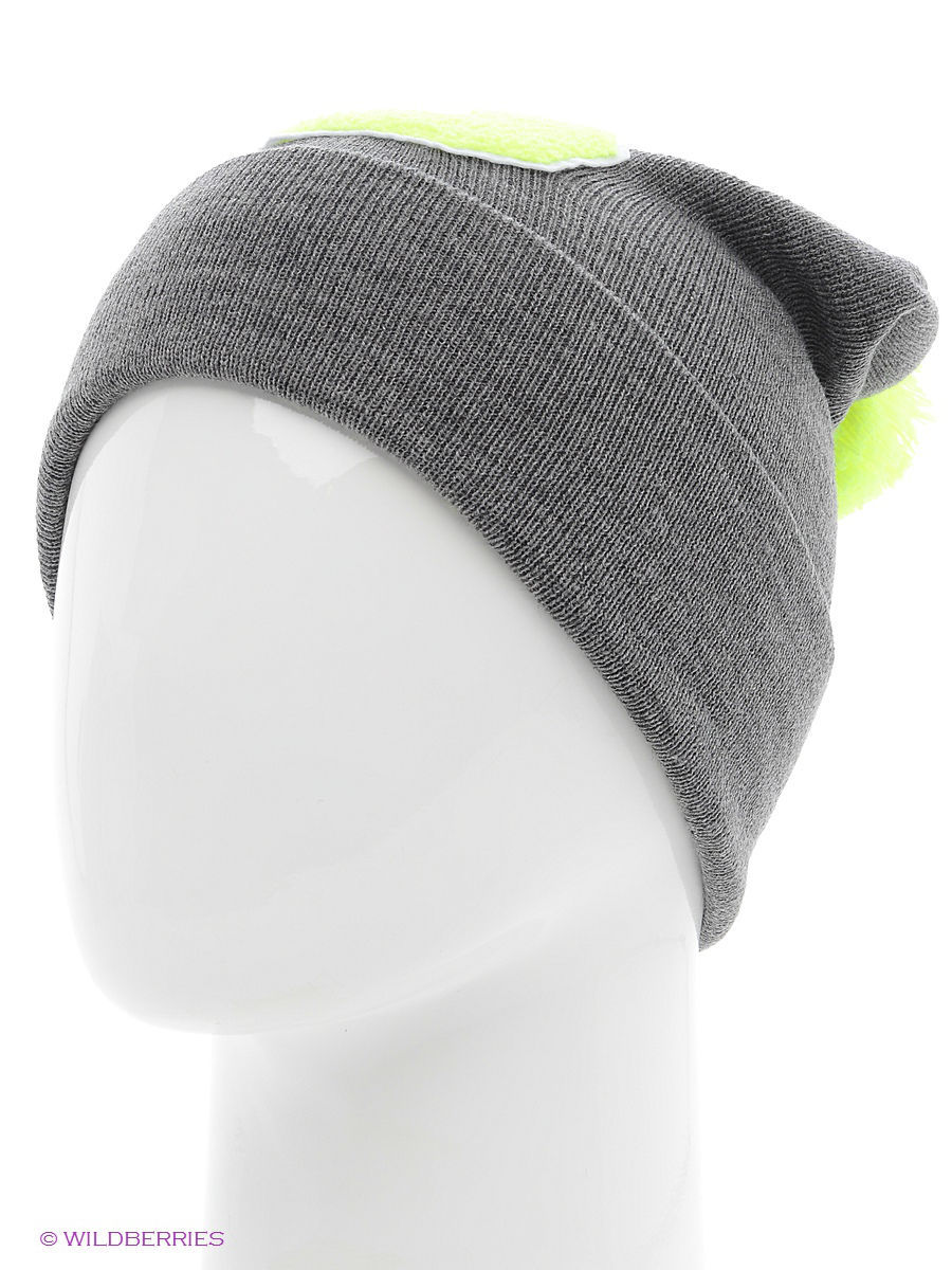 Шапка True Spin TS-ABCPOM14Grey/Lime-S