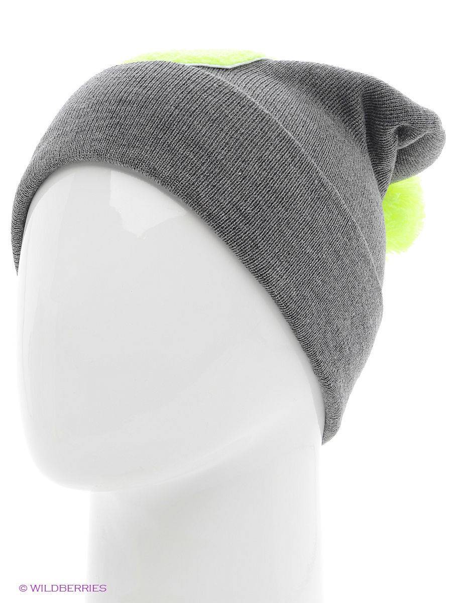 Шапка True Spin TS-ABCPOM14Grey/Lime-U