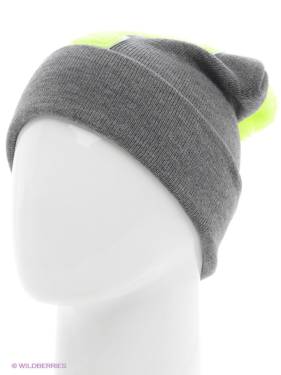 Шапка True Spin TS-ABCPOM14Grey/Lime-Y