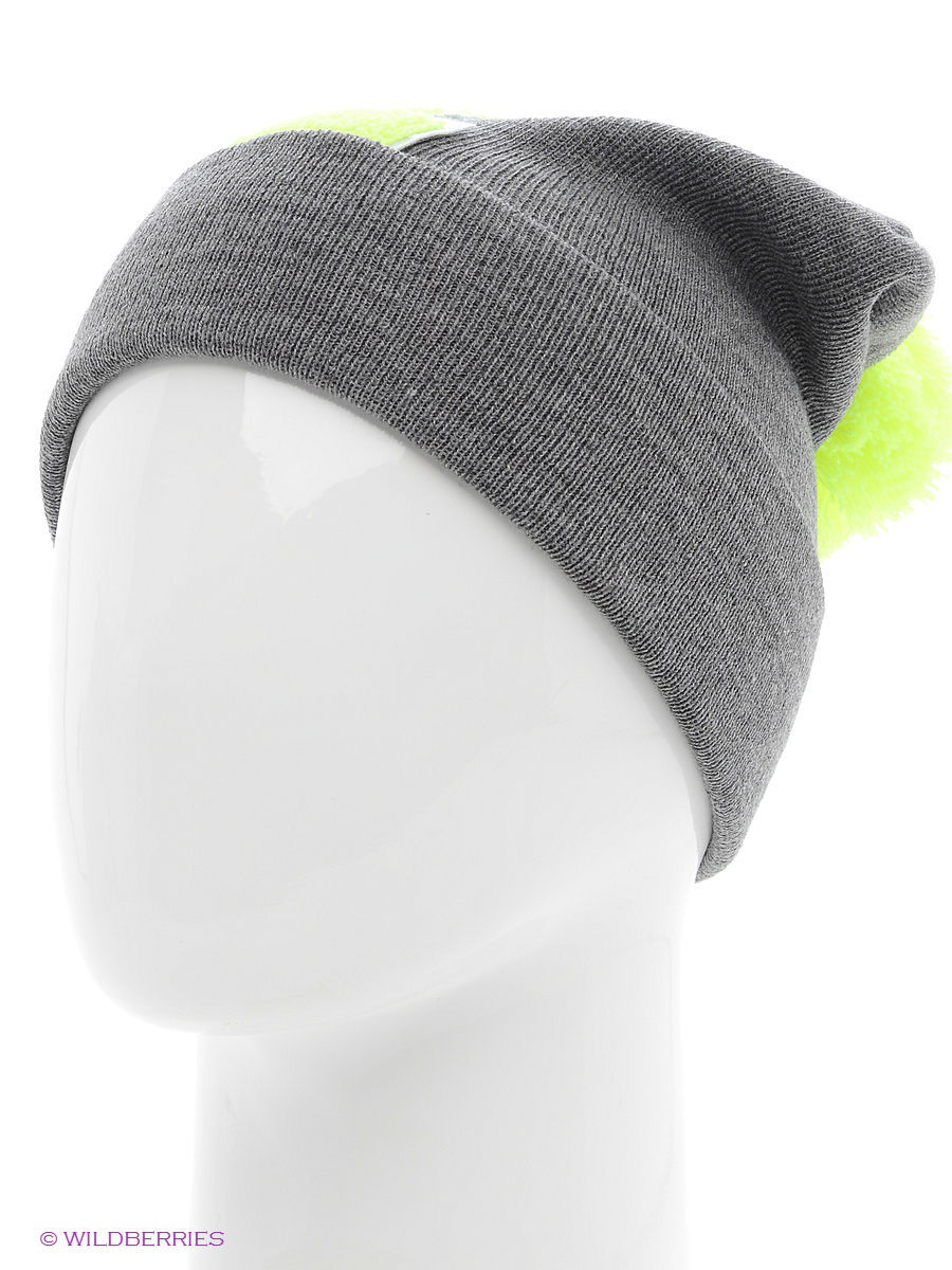 Шапка True Spin TS-ABCPOM14Grey/Lime-Z