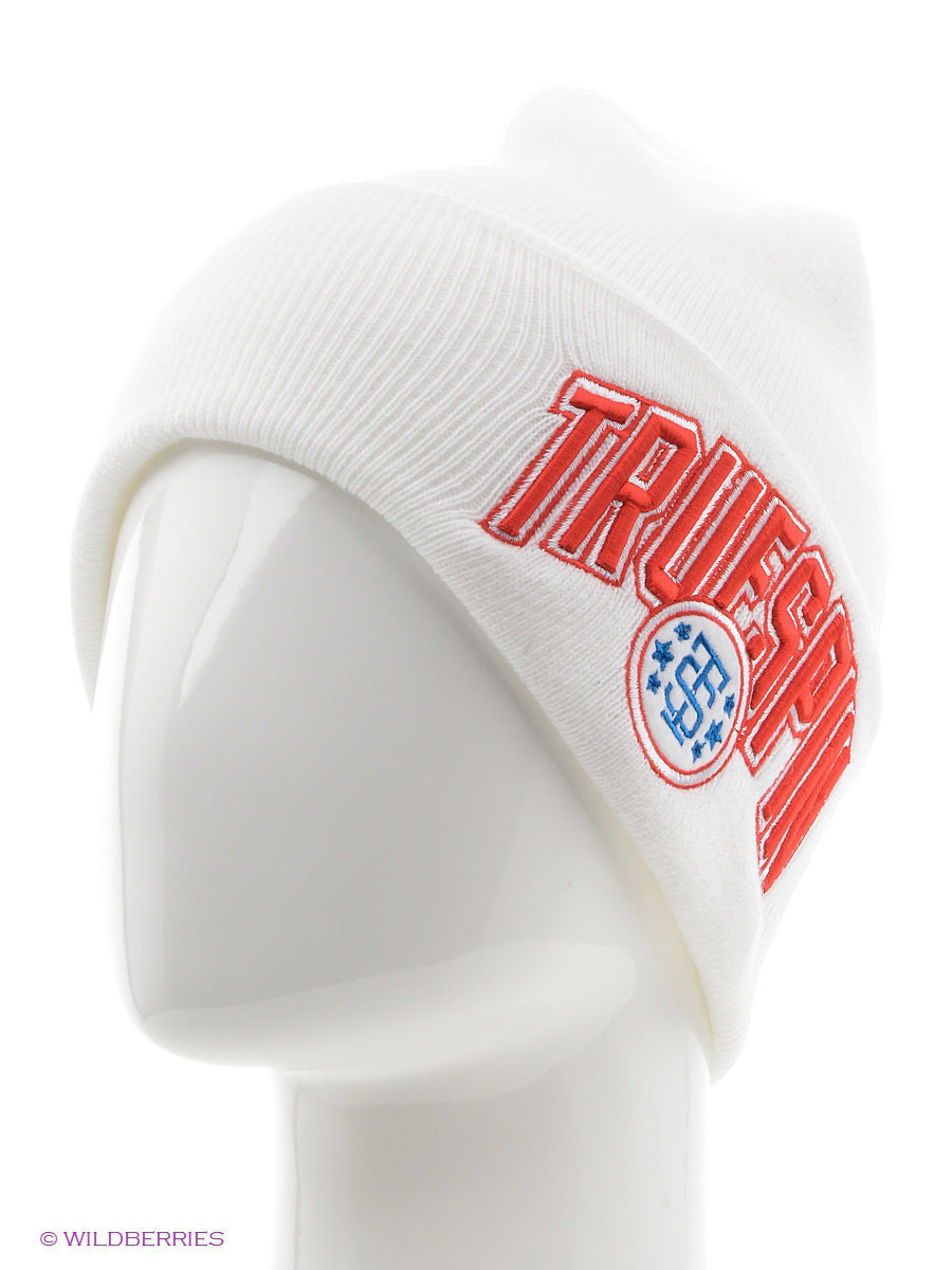 Шапка True Spin TS-BASCL13White-Blue-Red