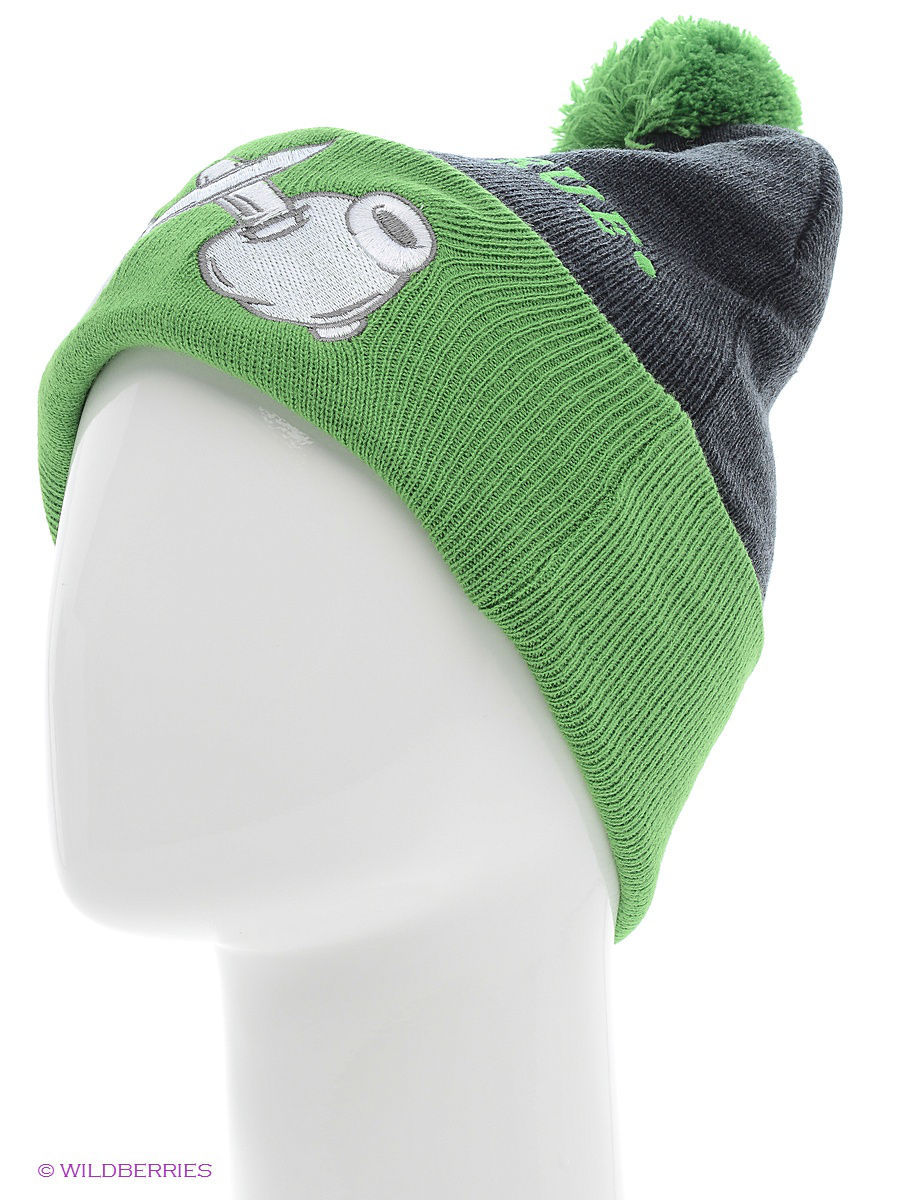 Шапка True Spin TS-BCMPO13Charcoal-Green