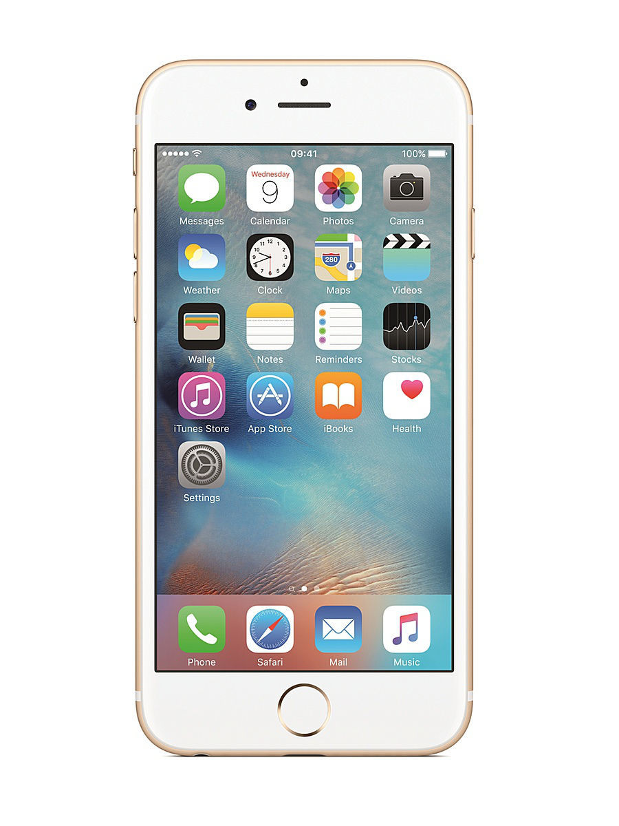 Смартфон APPLE iPhone 6s MKQV2RU/A 128Gb, золотистый