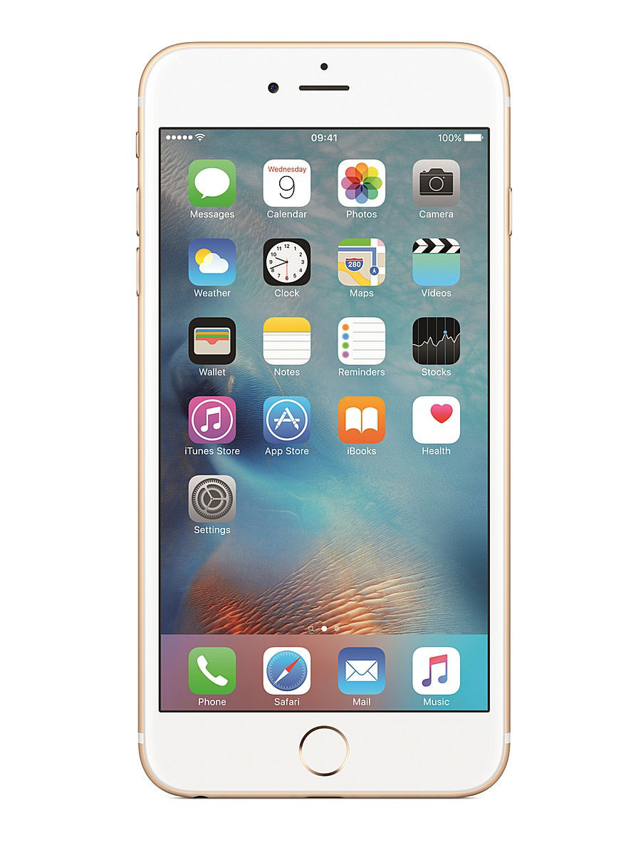 Смартфоны Apple Смартфон iPhone 6s Plus MKU32RU/A 16Gb, золотистый смартфон apple iphone 6s plus 16gb gold ios 9 a9 1840mhz 5 5 1920x1080 2048mb 16gb 4g lte 3g edge hsdpa hspa [mku32ru a]