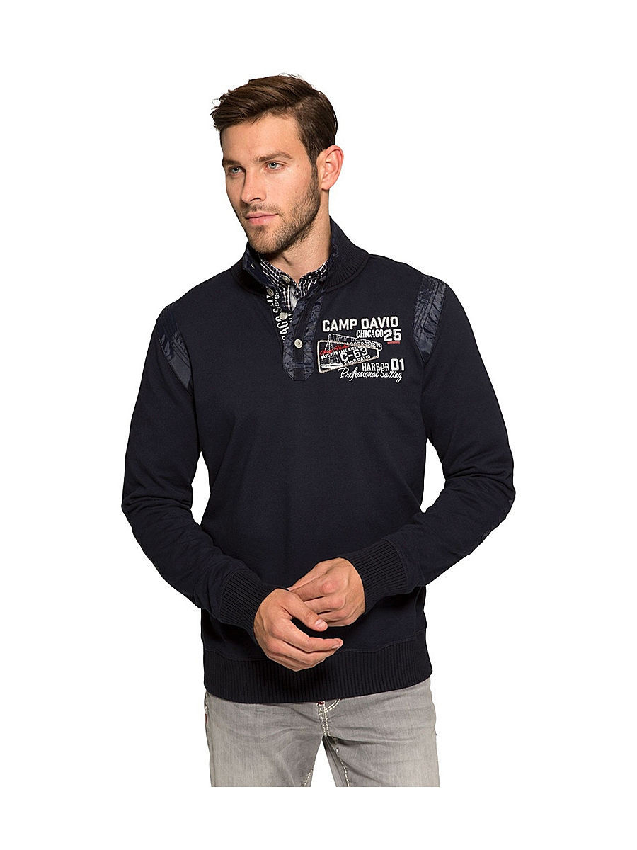 Мужские поло Camp David CCB-1508-3734/bluenavy: изображение 1