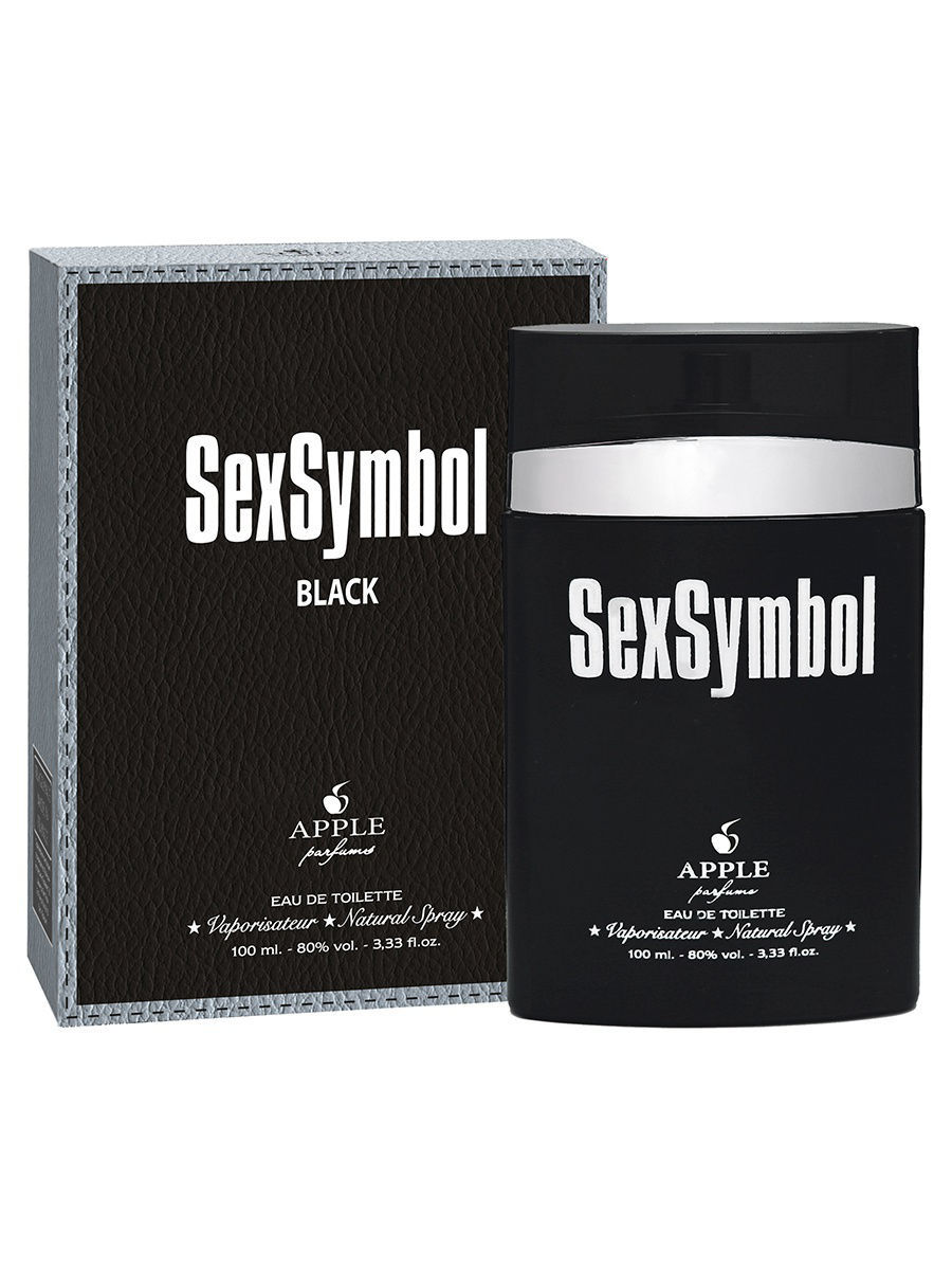 Туалетная вода APPLE PARFUMS Туалетная Вода Sex Symbol Black (Секс Символ Блэк) 100Мл