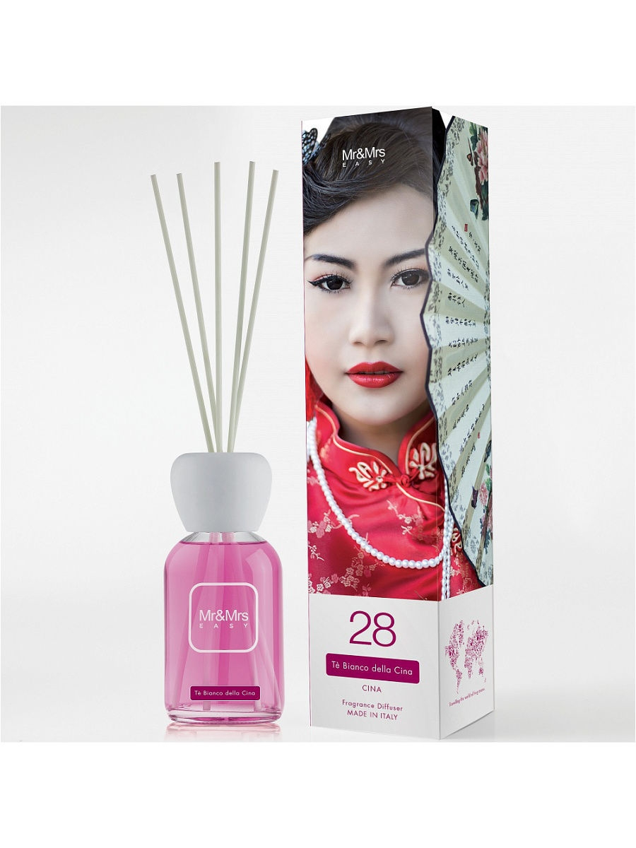 Парфюм для дома Mr&Mrs Fragrance Аромадиффузор EASY №28 WHITE TEA OF CHINA