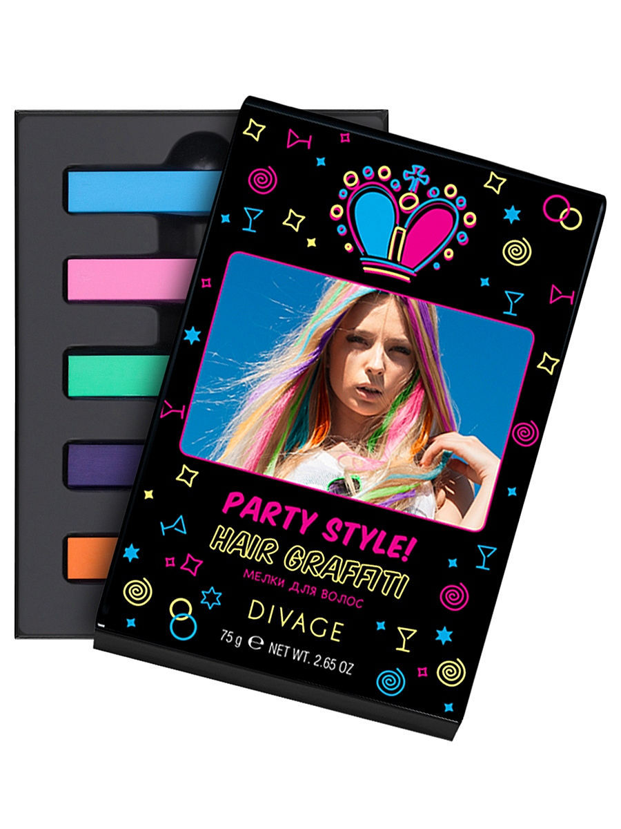 """����� ������� ������ ��� ����� """"PARTY STYLE"""", 5 �� DIVAGE PS-Chalk_8472"""