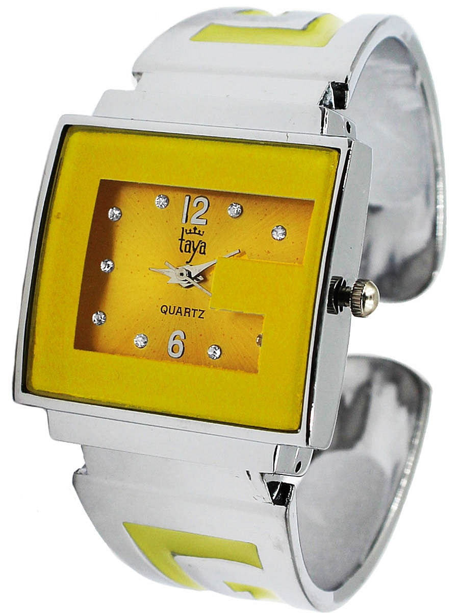 Часы Taya (Тая) T-W-0404-WATCH-SL.YELLOW