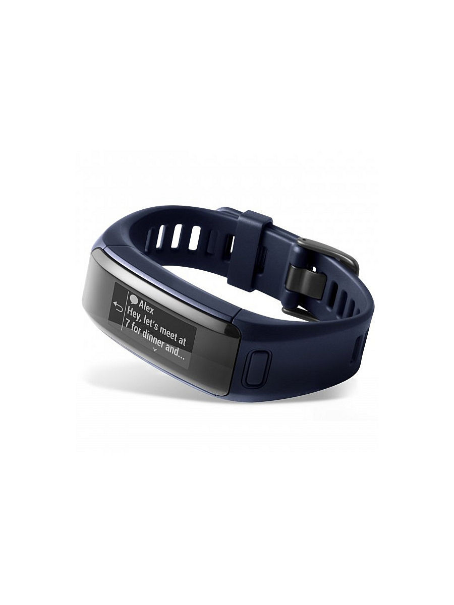 Смарт-браслет Garmin vivosmart HR Blue Regular 010-01955-14