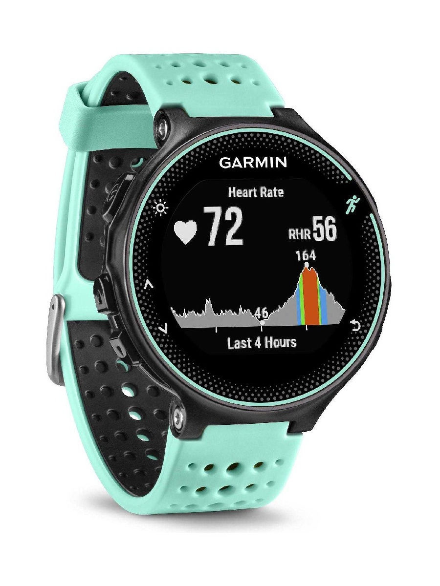 Смарт-часы GARMIN Умные часы Forerunner 235 голубые garmin смарт часы forerunner 920xt white red hrm run