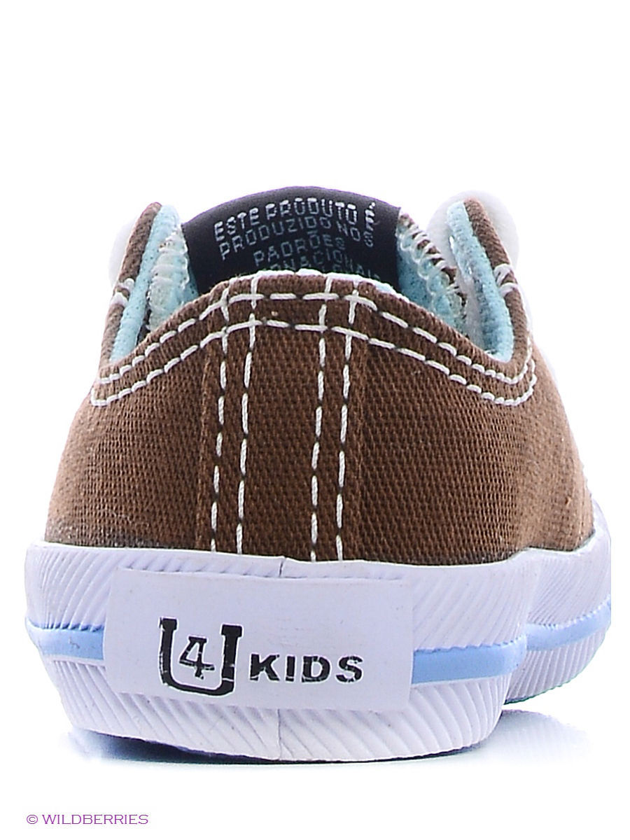 Кеды 4U (4Ю) SS1109/Brown-Blue