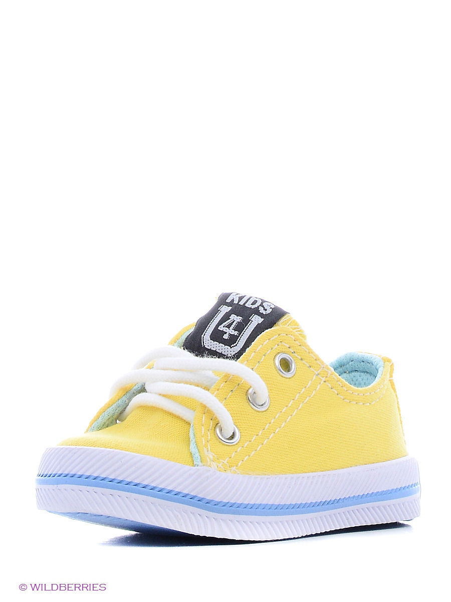 Кеды 4U SS1109/Yellow-Blue