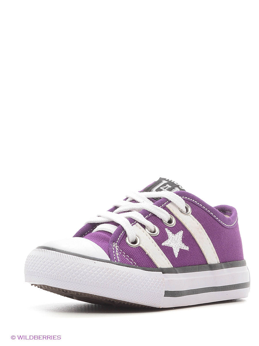 Кеды 4U SS137.1/Purple-White