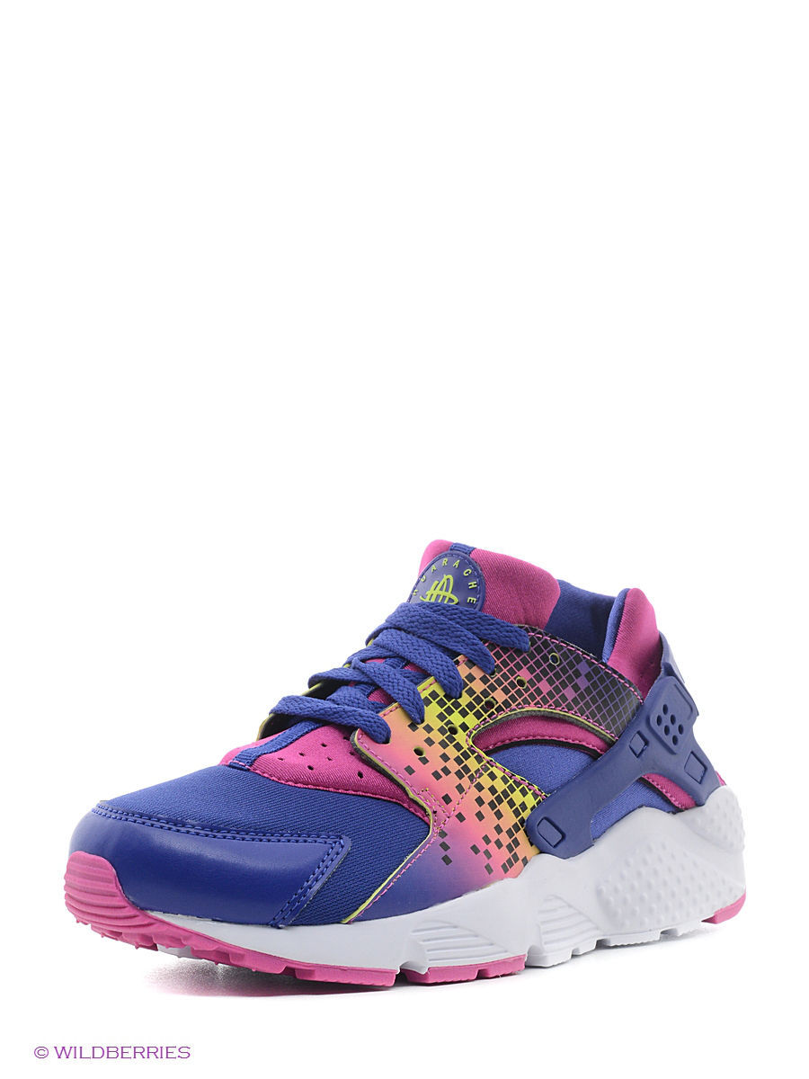 Кроссовки NIKE HUARACHE RUN PRINT (GS) 704946-500