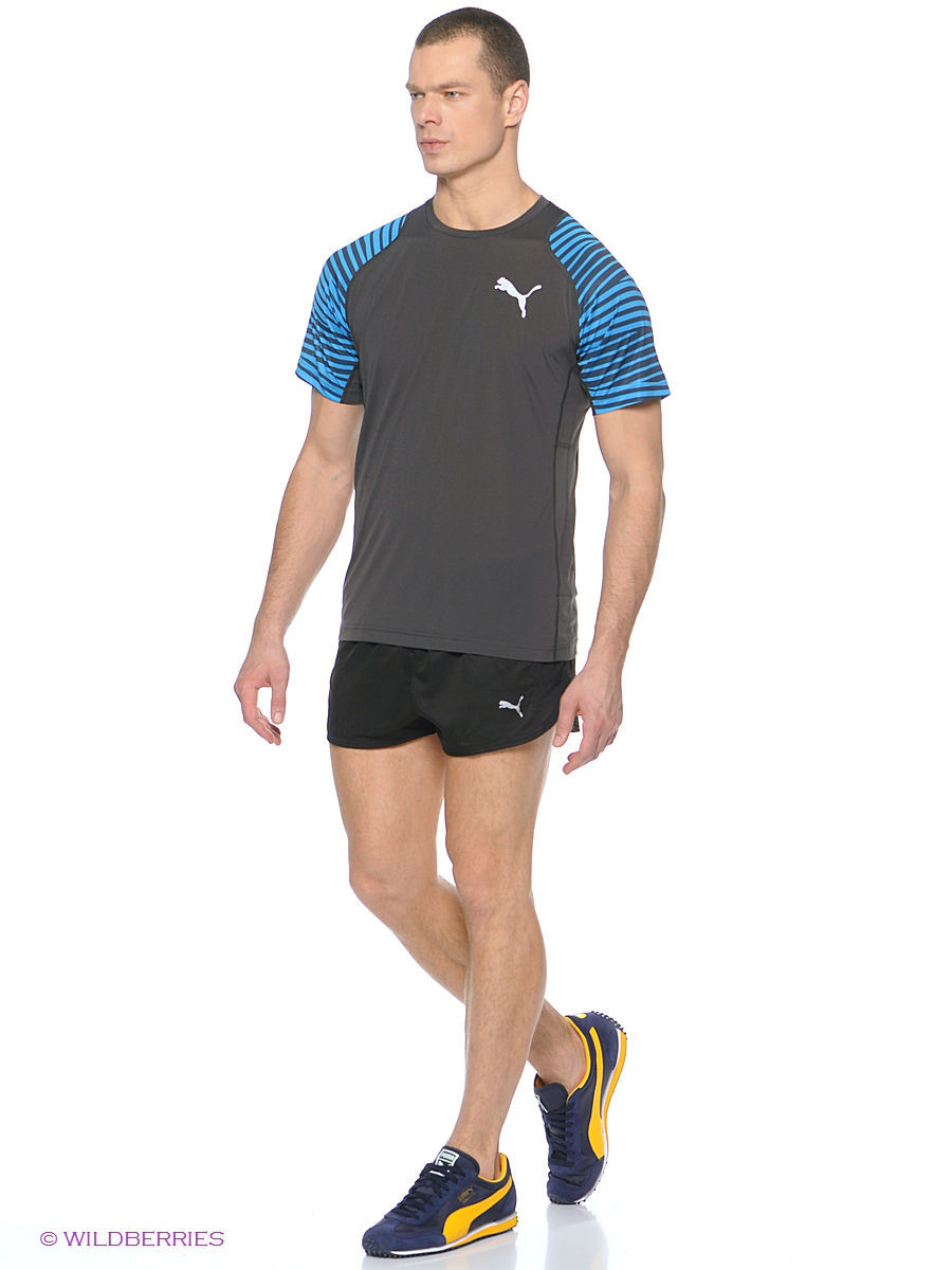 Шорты PE Running Split Shorts Puma 51382701