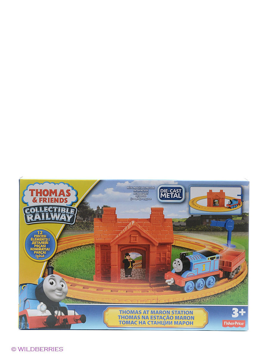Железные дороги THOMAS & FRIENDS Игровой набор Thomas CR  thomas