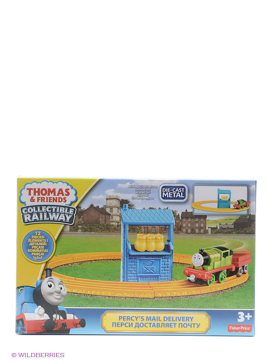 Железные дороги THOMAS & FRIENDS Игровой набор Thomas CR  thomas 787244
