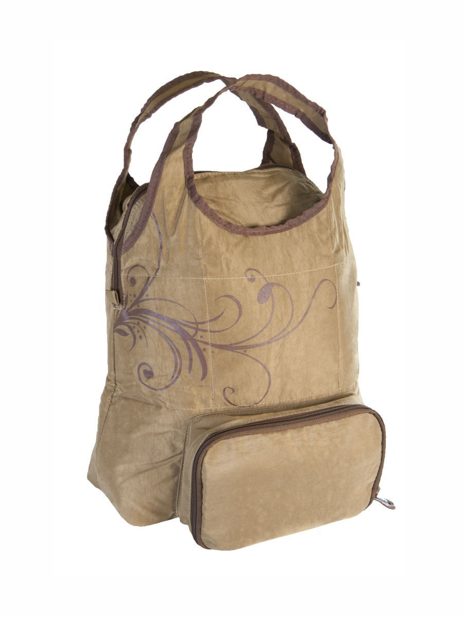 �����-������ Foldable Tote - Brown Thermos 446459