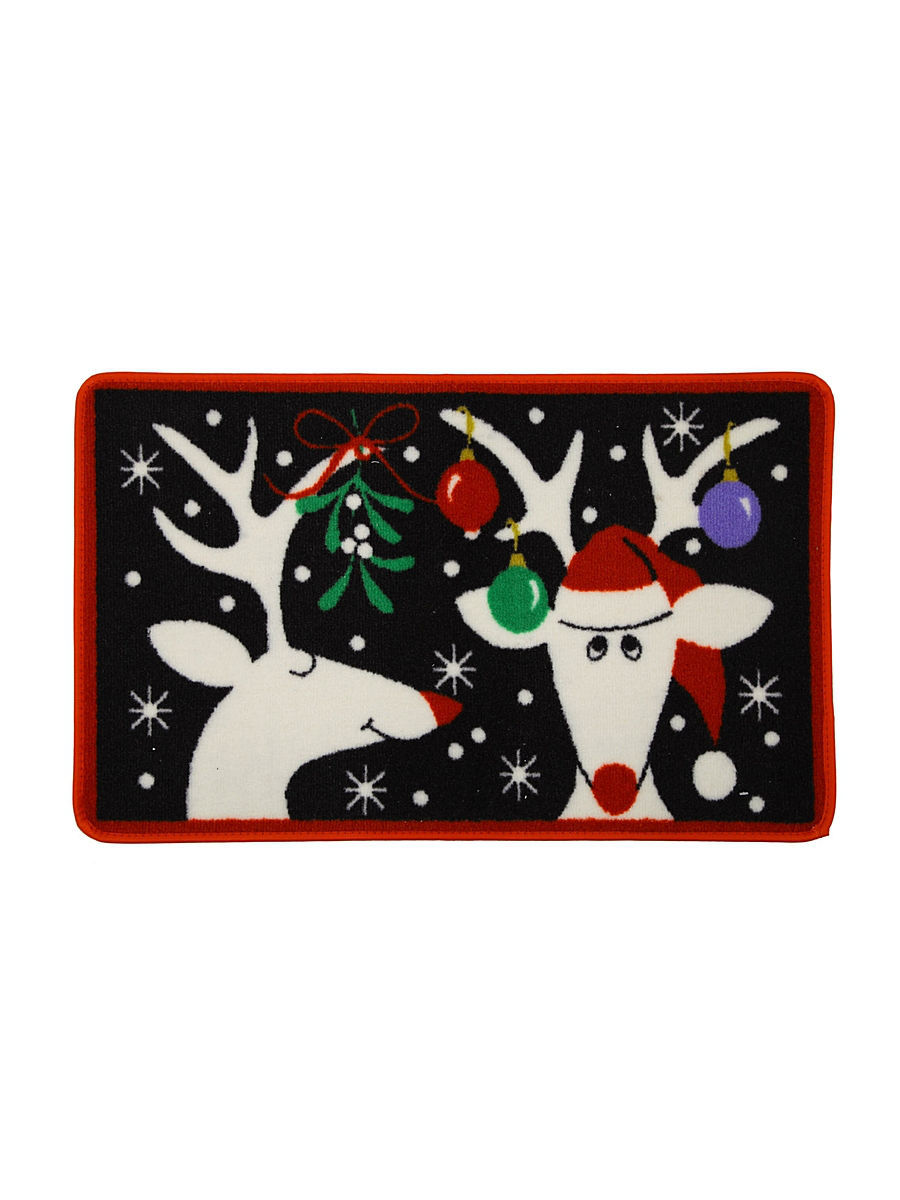 "Коврик 50х80см LWSLYRN014T ""Silly Reindeer Lowes"" Blonder Home"