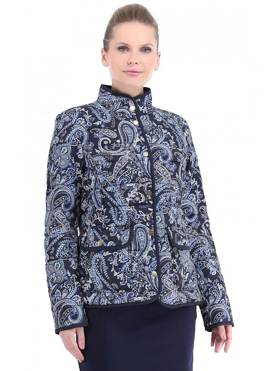 Куртка Baon (Баон) B036011/DARKNAVYPRINTED: изображение 2