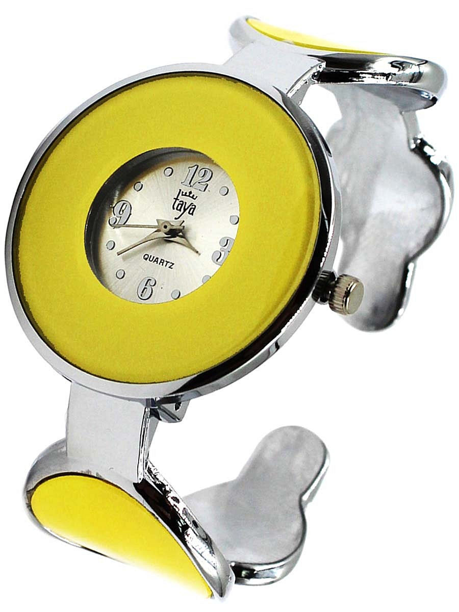Часы Taya T-W-0450-WATCH-SL.YELLOW