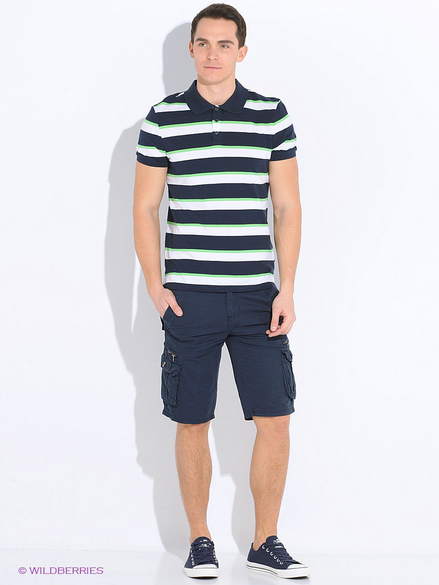 ���� Baon B706013/DEEPNAVY-ACIDGREENSTRIPED