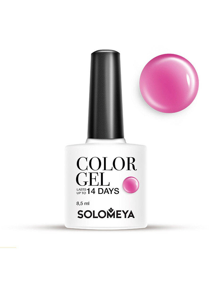 Гель-лаки SOLOMEYA Гель-лак Color Gel Тон Lollipops SCG063/Сладости гель лаки solomeya гель лак color gel тон espresso scg005 эспрессо