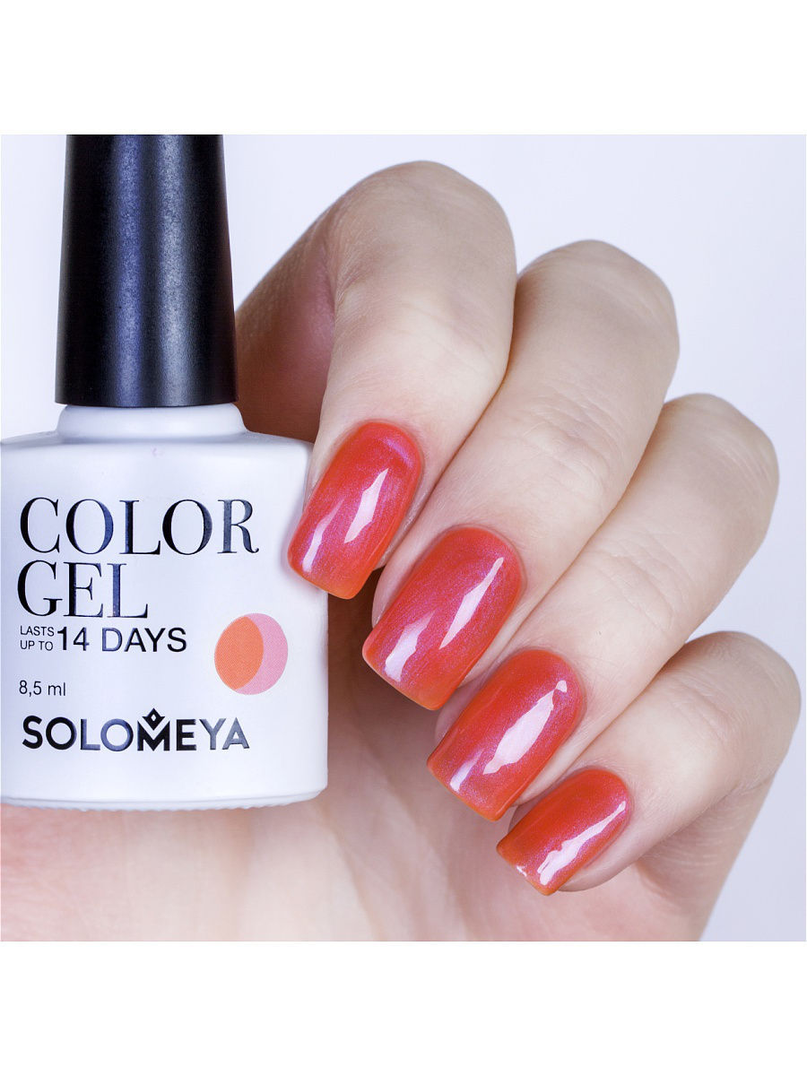 Гель-лаки SOLOMEYA Гель-лак Color Gel Тон Fudge SCG061/Помадка гель лаки solomeya гель лак color gel тон celia scg103 селия