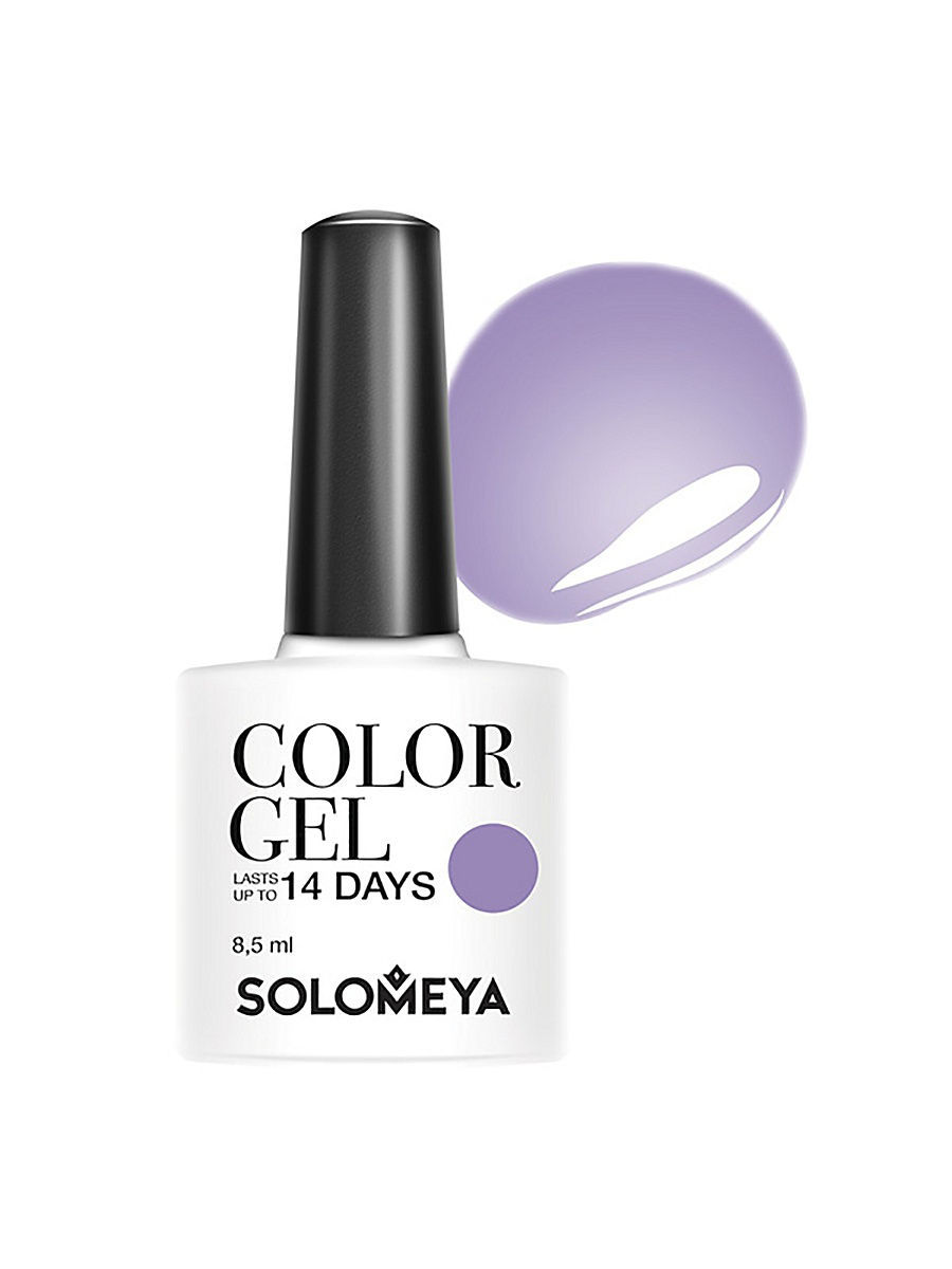Гель-лаки SOLOMEYA Гель-лак Color Gel Тон Cloche SCG151/Клош