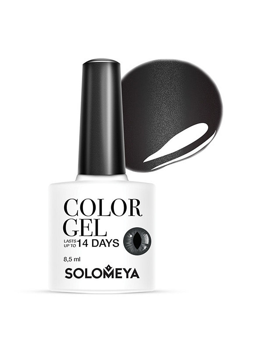 Гель-лаки SOLOMEYA Гель-лак Cat Eye Gel Тон Wild Grey SCE031/Дикий серый grey cat mp002xw0zuid grey cat