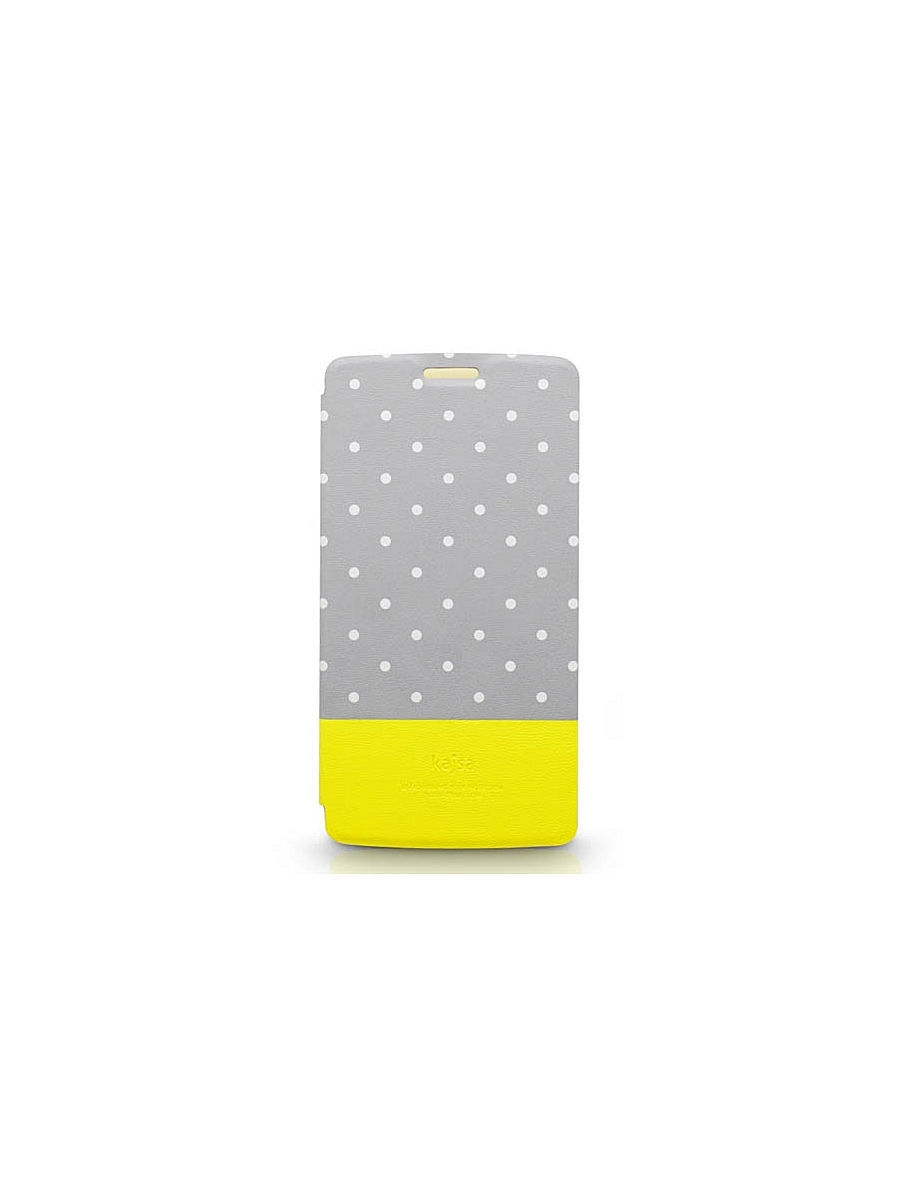 Чехлы для телефонов Kajsa Чехол для LG G3 Neon Collection Glow-in-the-Dark Dot pattern Folio case,Grey чехлы для телефонов kajsa чехол для iphone 6 plus preppie collection saffiano leather folio case [iphone 6 5 5] pearl white