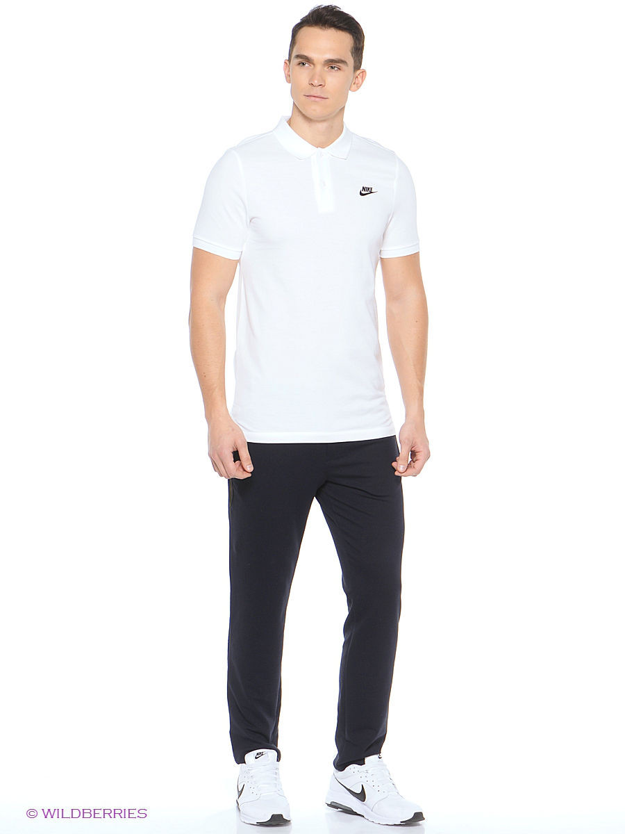 Футболка-поло NIKE GS SLIM POLO 727330-100