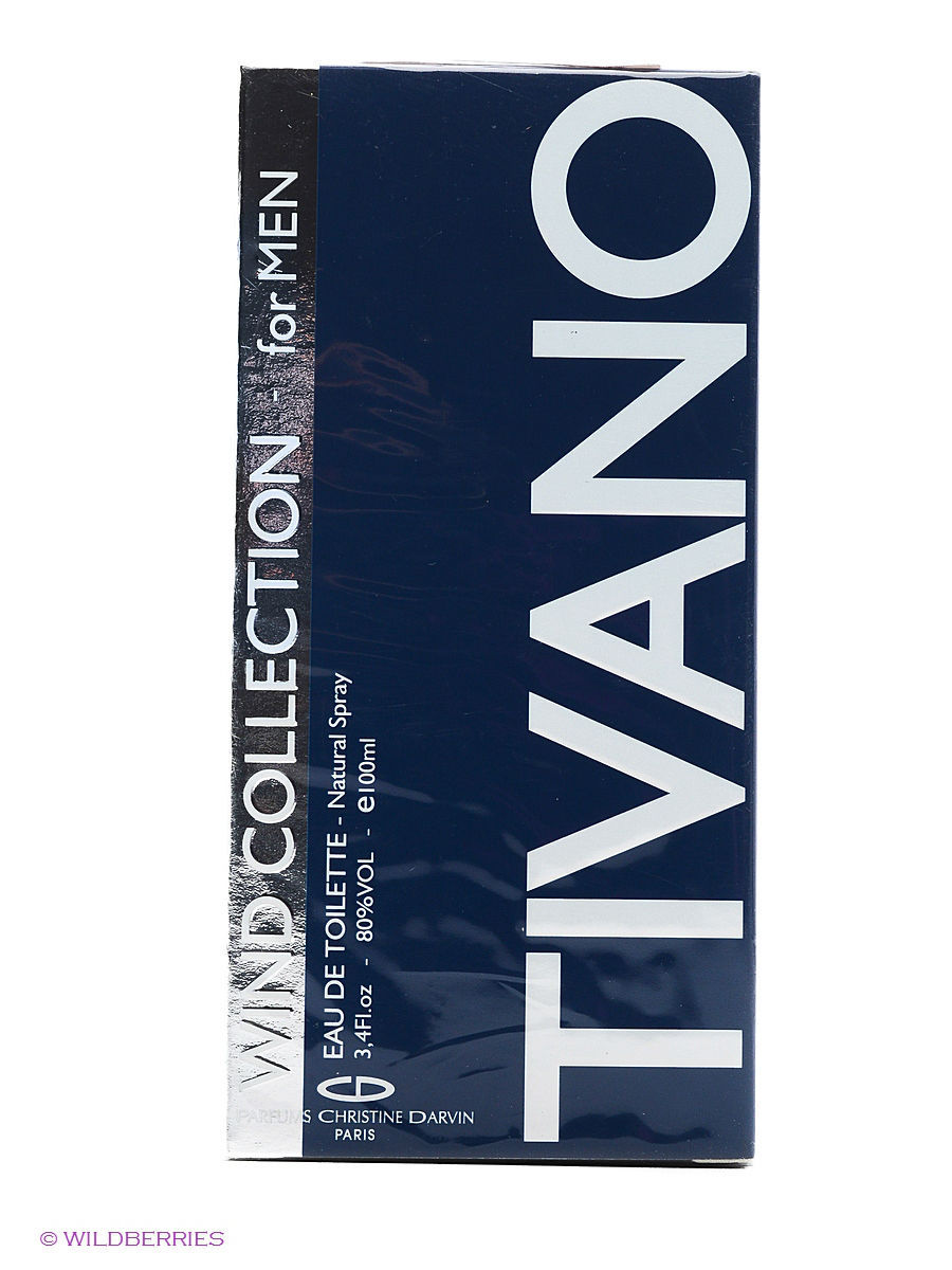 WIND COLLECTION TIVANO FOR MEN EDT 100ML SPRAY