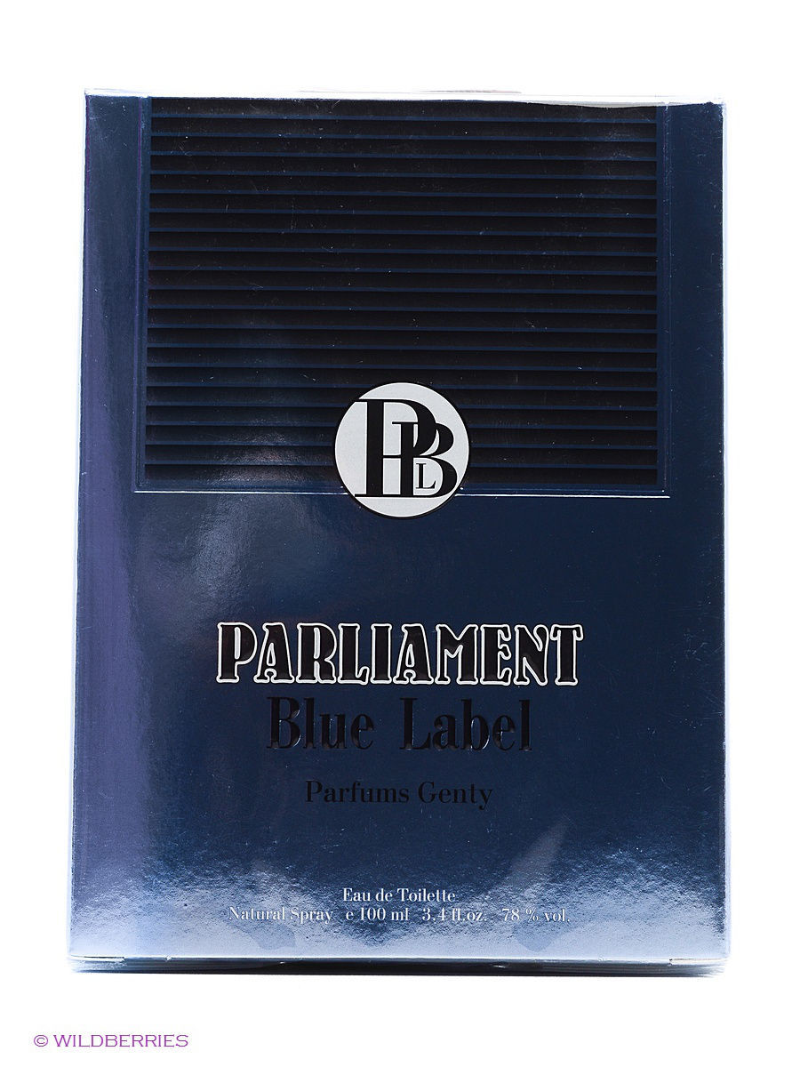��������� ���� PARLIAMENT BLUE LABEL EDT 100 ML SPRAY PARFUMS GENTY ELOR40693