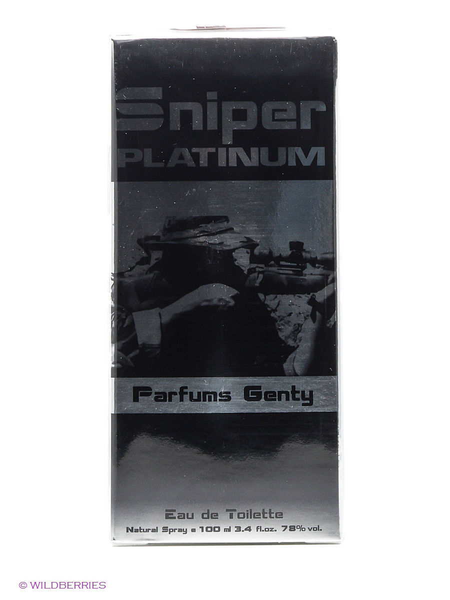 Туалетная вода PARFUMS GENTY SNIPER PLATINUM EDT 100 ML SPRAY туалетная вода parfums genty sniper extreme edt 100 ml spray