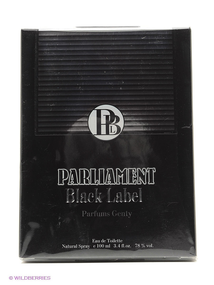 Туалетная вода PARLIAMENT BLACK EDT 100ML SPRAY PARFUMS GENTY ELOR45704