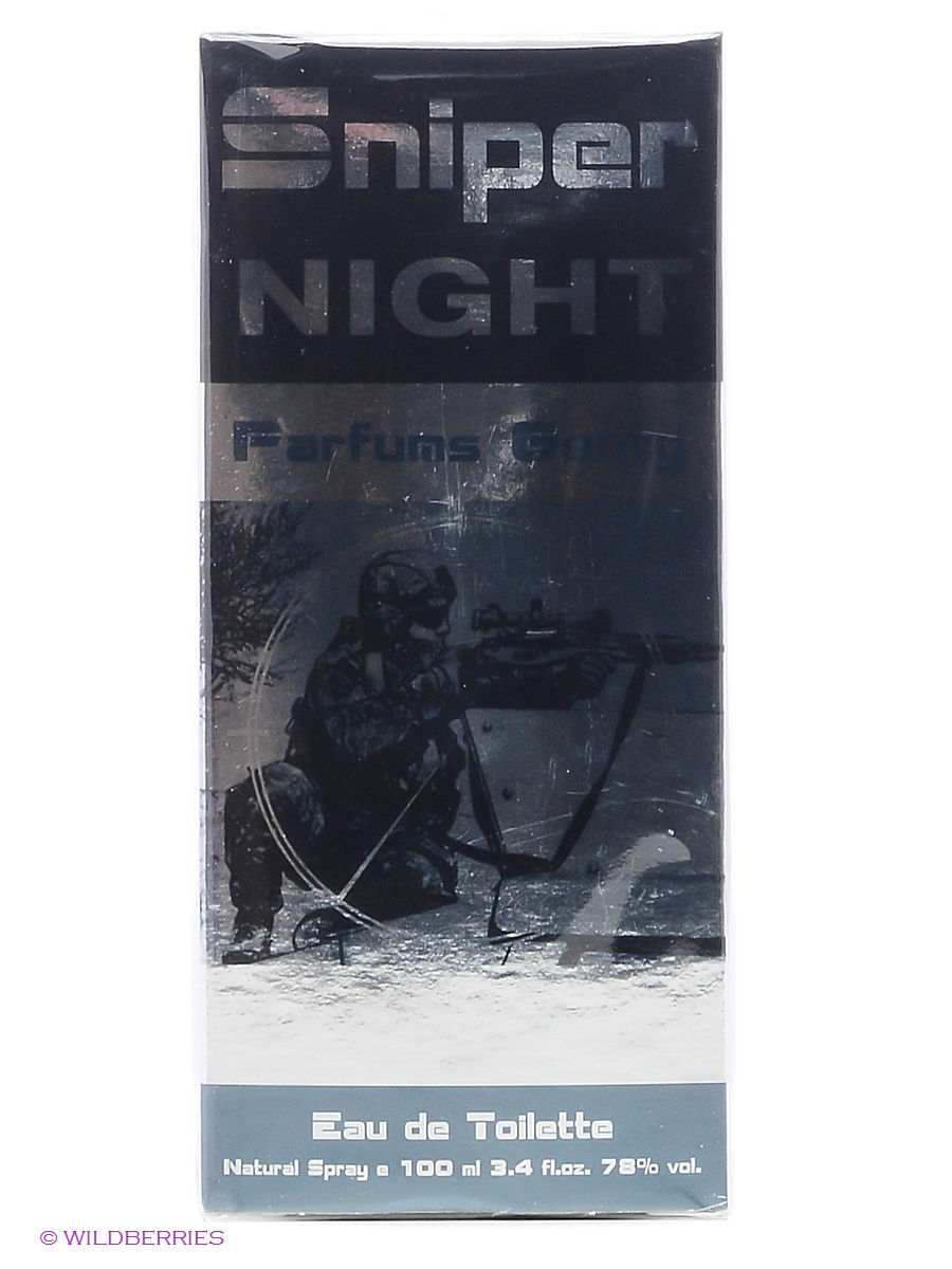 Туалетная вода PARFUMS GENTY SNIPER NIGHT EDT 100 ML SPRAY туалетная вода parfums genty sniper extreme edt 100 ml spray