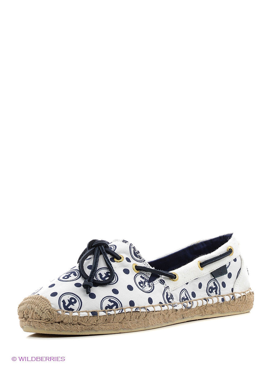 Мокасины Sperry Top-Sider STS91275/ivory/navy(anchors)