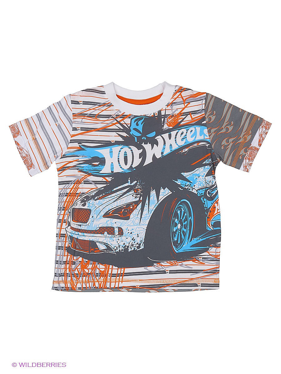 Футболка Hot Wheels HW-TSM241-PRN