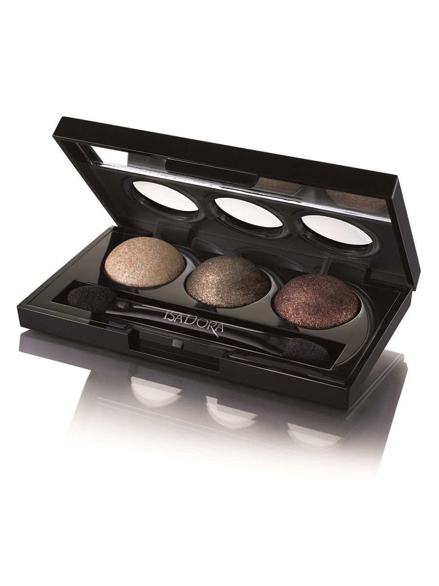 Тени ISADORA Тени для век Eye Shadow Trio 86, 1.8г тени для век isadora eye shadow quartet 03 цвет 03 urban green variant hex name a19388