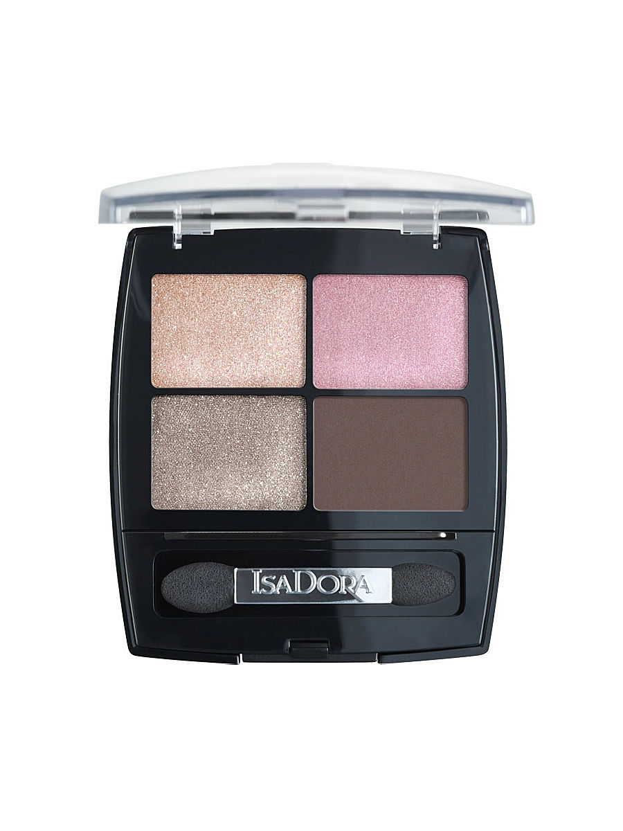 Тени ISADORA IsaDora Тени для век Eye Shadow Quartet 05, 5гр тени для век isadora eye shadow quartet 03 цвет 03 urban green variant hex name a19388
