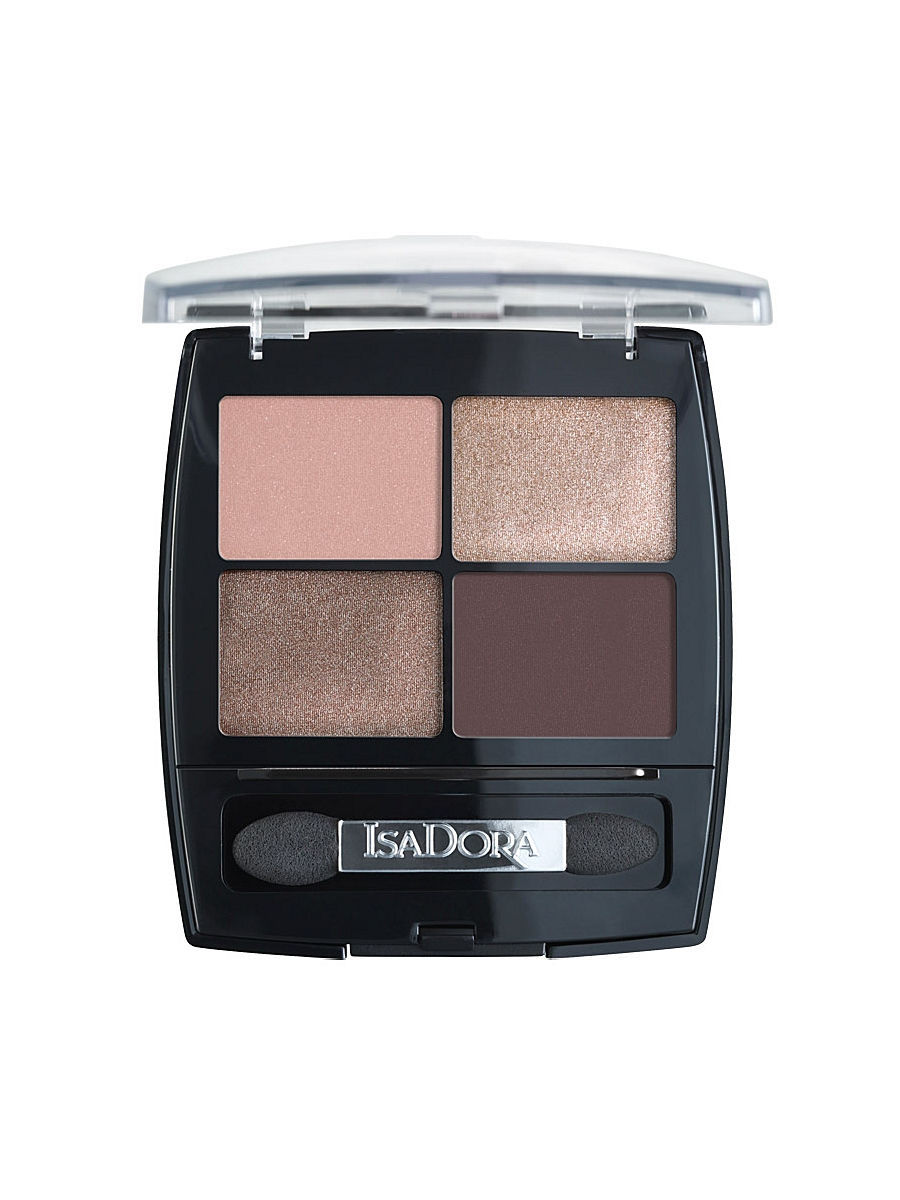 Тени ISADORA IsaDora Тени для век Eye Shadow Quartet 06, 5гр тени для век isadora eye shadow quartet 03 цвет 03 urban green variant hex name a19388