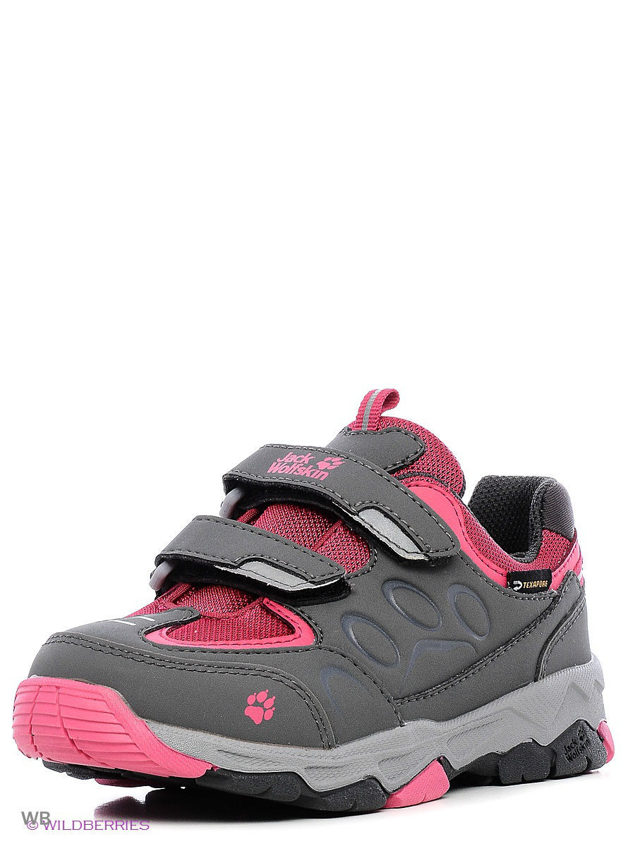 Кроссовки MTN ATTACK 2 TEXAPORE LOW VC K Jack Wolfskin 4019221/2045