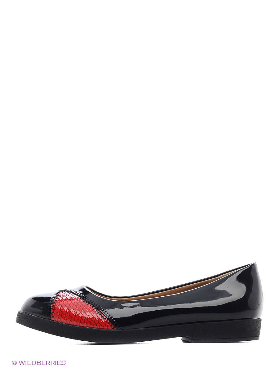 Туфли на каблуке Burlesque HRC15134-22/black-red: изображение 2
