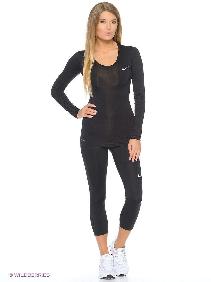 Лонгслив NP CL LONG SLEEVE Nike 725740-010