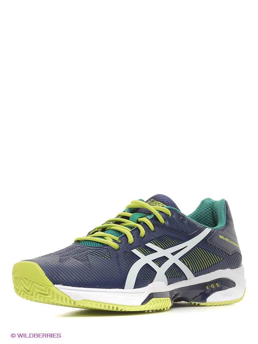 Кроссовки ASICS Кроссовки GEL-SOLUTION SPEED 3 CLAY asics asics gel cardio zip 3