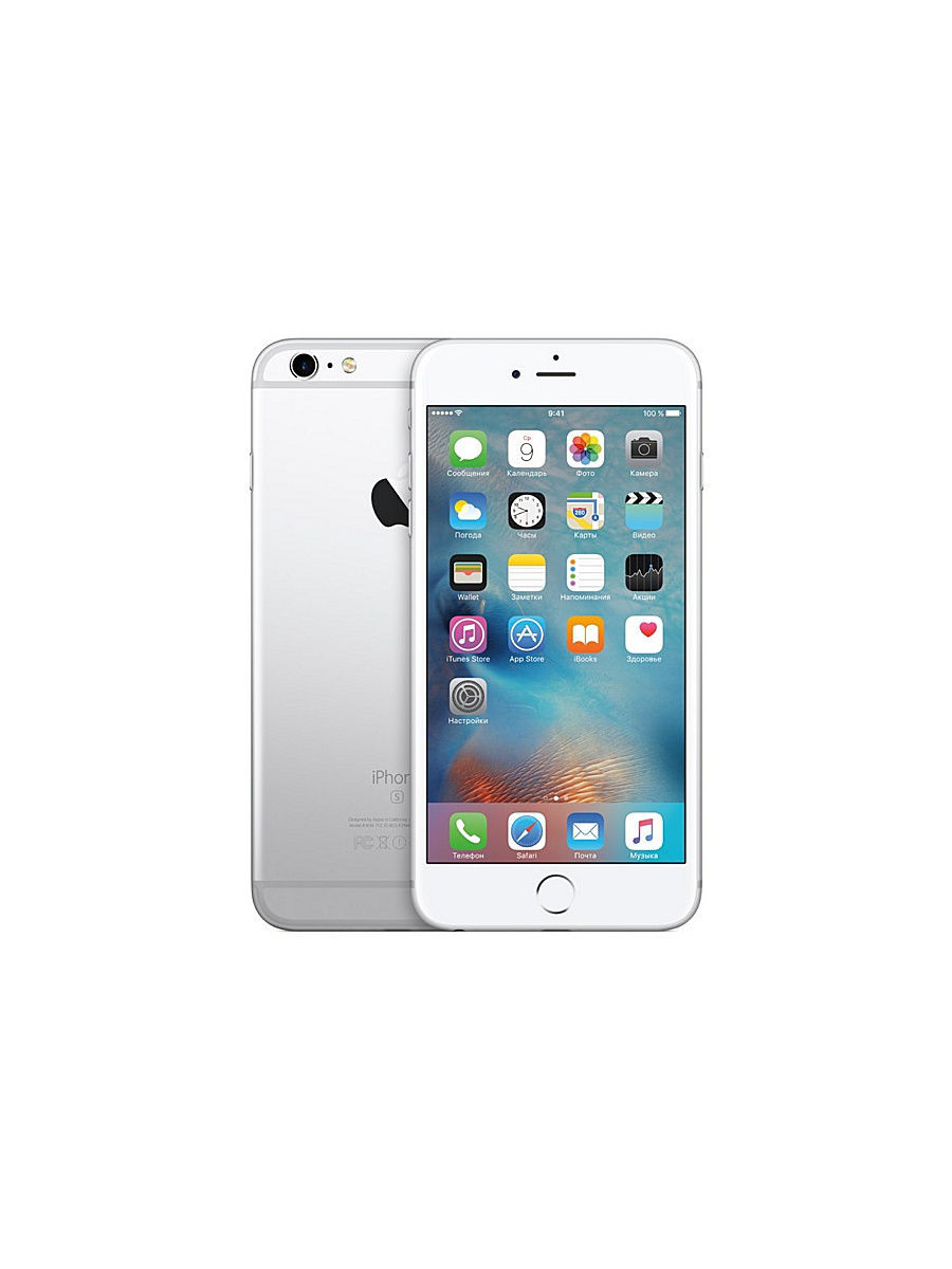 Смартфоны Apple 328076 Смартфон iPhone 6s Plus MKU22RU/A 16Gb, серебристый